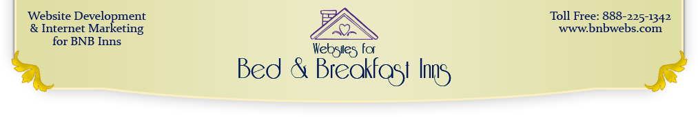 Websites for Bed and Breakfast Inns